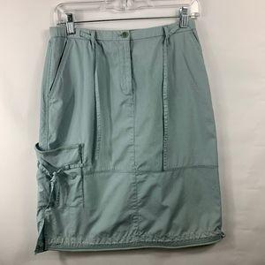 3For$20 J.Jill Cargo/Pocket Skirt Teal